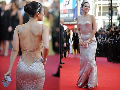 modelos de Vestido com decote nas costas lindos