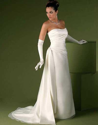 imagens de vestidos de noiva simples