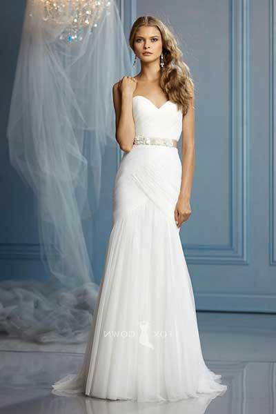 modelos de vestidos de noiva simples