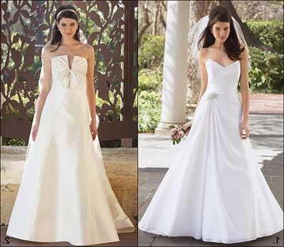 vestidos simples de casamento