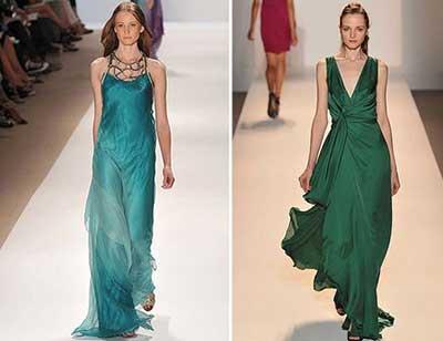 imagens de vestidos longos para baixinhas da moda