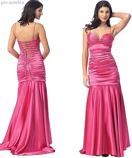modelos de vestidos drapeados