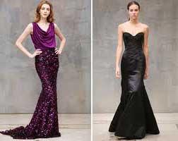 Vestidos longos de festa estilo sereia