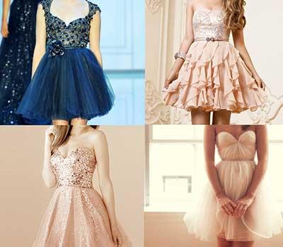 vestidos para formatura curtos