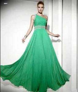 vestidos de casamento verdes