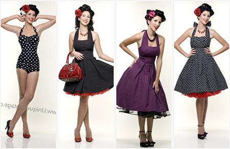 40 Modelos De Vestidos Vintage Da Moda Feminina