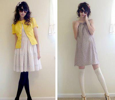 vestido vintage para dia a dia
