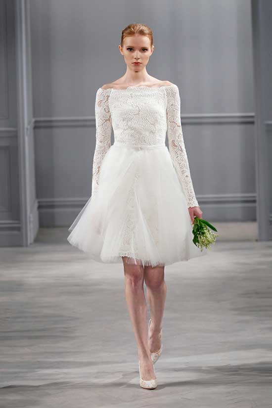 Fotos, imagens e modelos de vestidos de casamento curtos