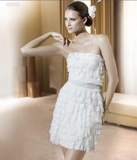 Dicas de modelos de vestidos de noiva curtos com renda