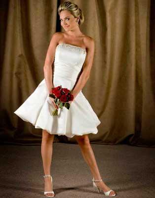 modelos de vestidos de casamento para noivas curtos