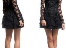 vestidos para balada de renda curtos