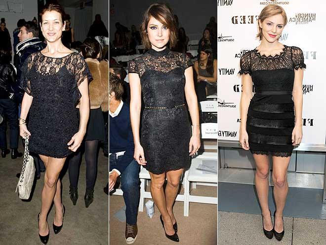 Modelos de Vestidos de renda curto para festa