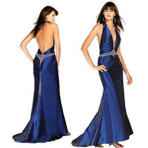 Casaco para usar com vestido de festa azul