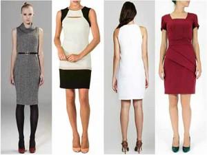 vestidos tubinho da moda