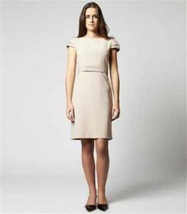 modelo de vestido tubinho couro