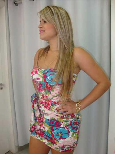 foto em blog de vestidos