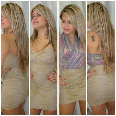 vestidos Maria Gueixa para balada