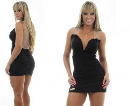 fotos de modelos de vestidos Maria Gueixa