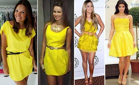Moda de vestidos simples