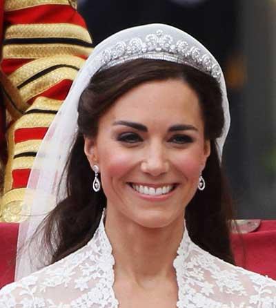 Kate Middleton casando na gringa