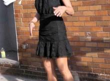 vestidos justos femininas