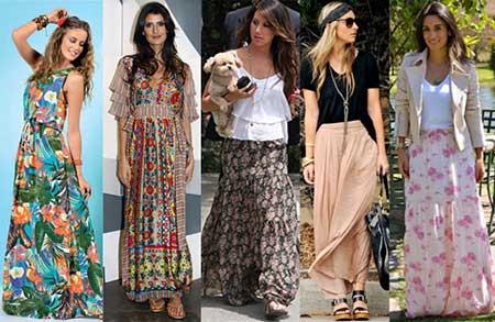 imagens de modelos de vestidos longos de festa