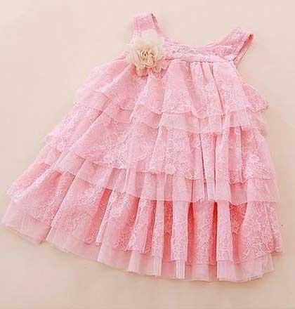 fotos de modelos de vestidos infantis
