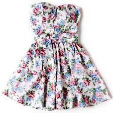 vestidos com flores
