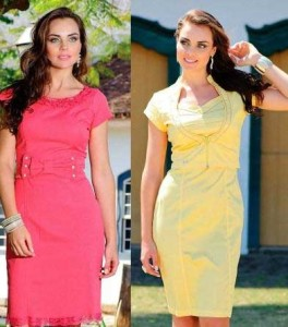 vestidos elegantes da moda