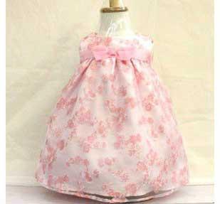 vestidos infantis da moda