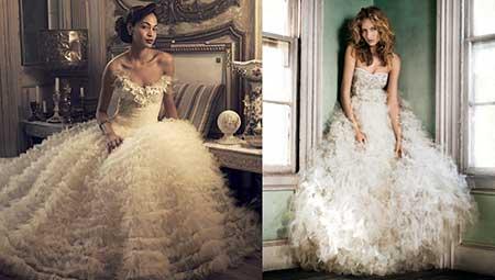 dois lindos looks com vestidos de tule
