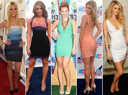 modelos de vestidos justos