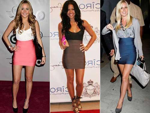 vestidos justos da moda