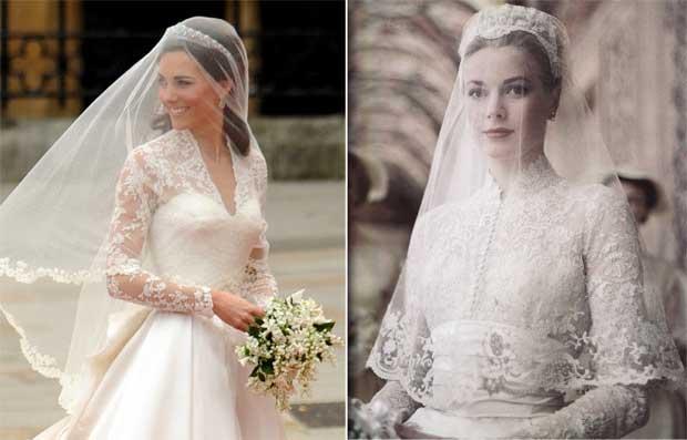 inspiração do vestidos da Kate Middleton
