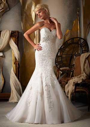 imagens de vestidos de noiva baratos