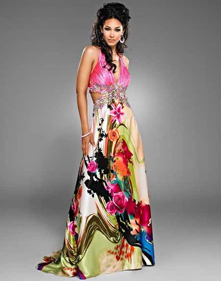 vestidos longos de festa femininos