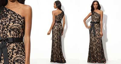 imagens de vestidos longos de renda