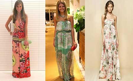 fotos de vestidos longos de festa