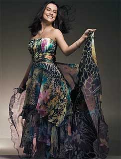 vestidos longos de festa da moda
