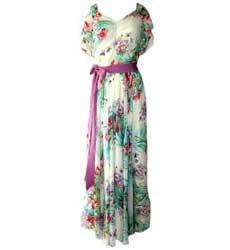 fotos de vestidos florais