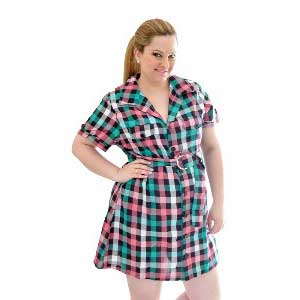 imagens de vestidos xadrez