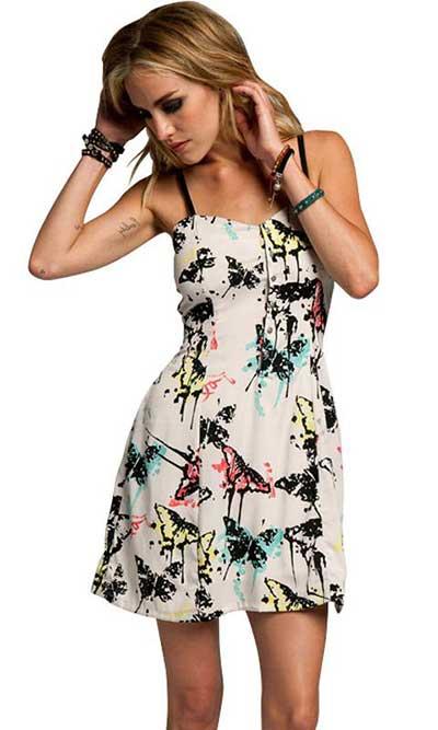 fotos de modelos de vestidos casuais