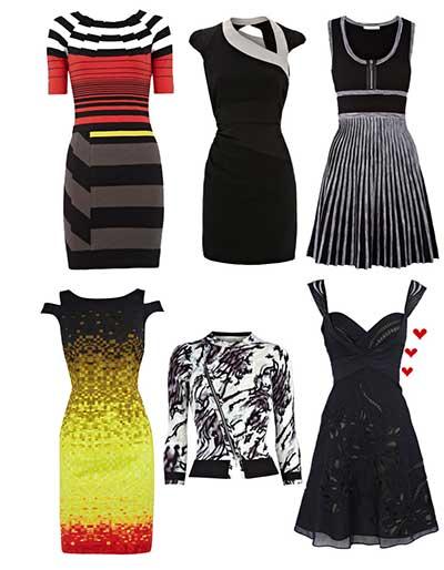 vestidos casuais da moda