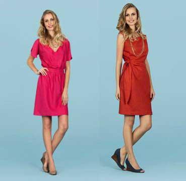 modelos de vestidos casuais