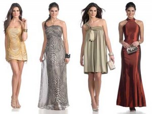 imagens de modelos de vestidos elegantes