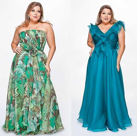 modelos de vestidos longos de festa
