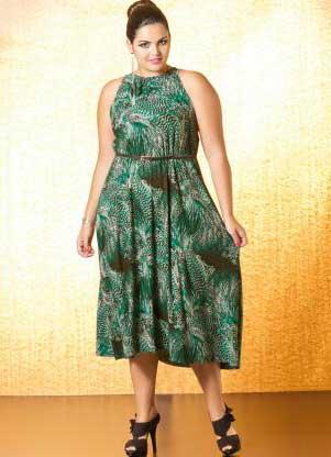 vestidos para mulheres acima do peso