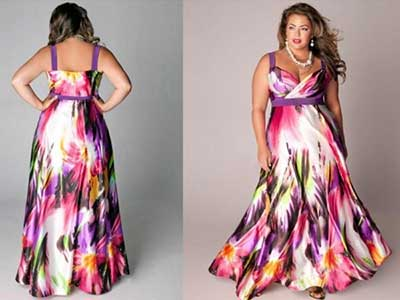 vestidos plus size da moda