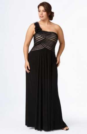 imagens de vestidos plus size