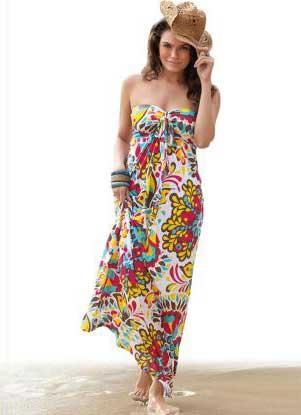 vestidos com estampas lindas